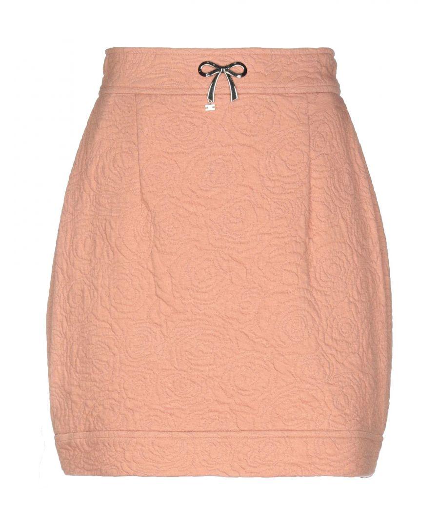 Image for Elisabetta Franchi Jeans Pale Pink Short Skirt