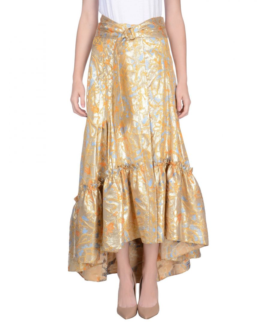 Image for Peter Pilotto Gold 3/4 Length Skirt
