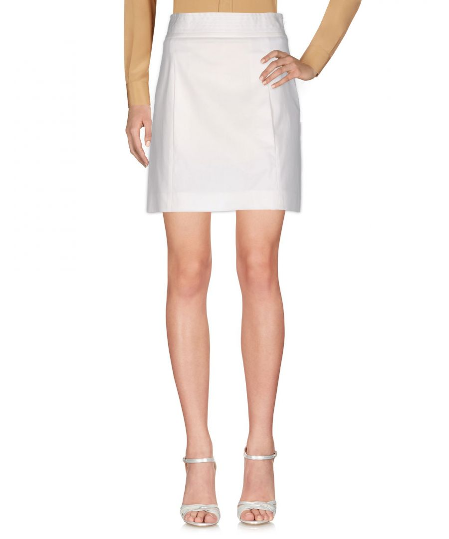 Image for M Missoni White Cotton Skirt
