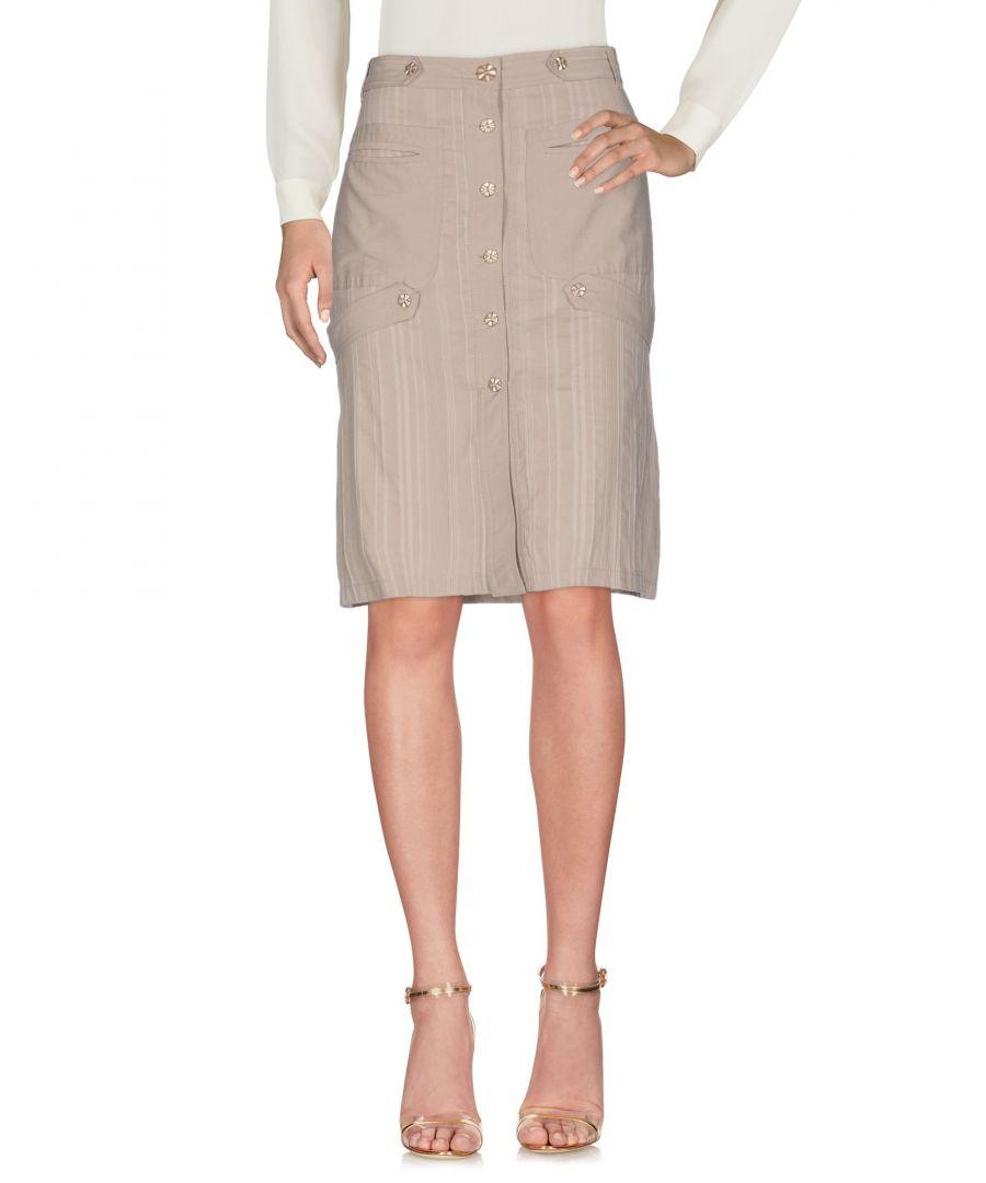 Image for Blu Byblos Beige Cotton Skirt