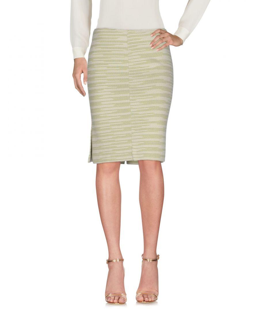 Image for Missoni Sport Light Green Wool Knit Skirt