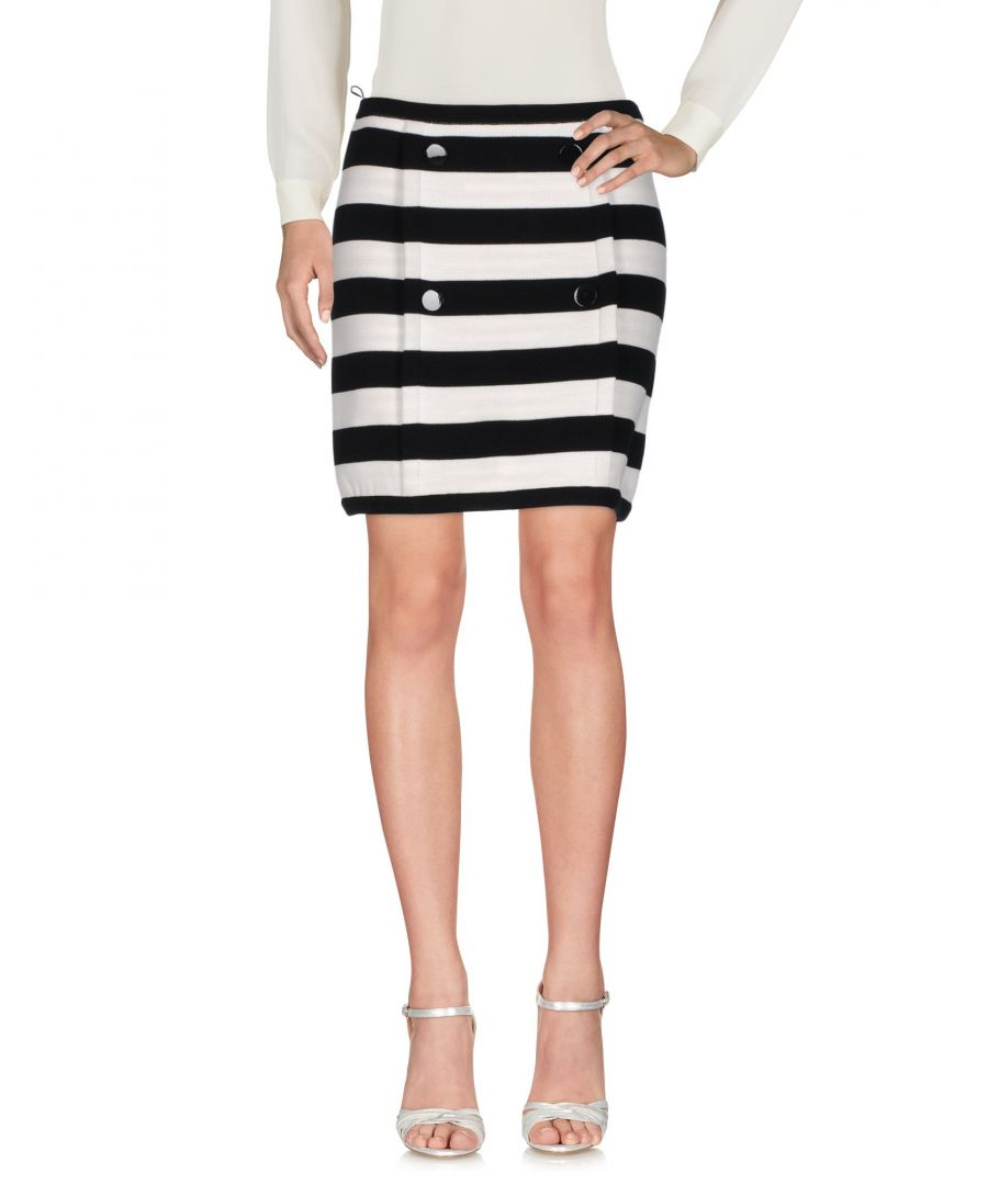 Image for M Missoni Monochrome Stripe Cotton Skirt