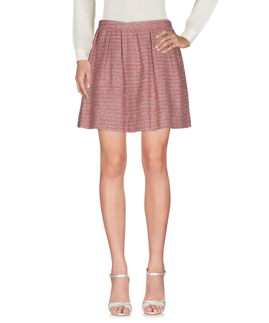 Image for Redvalentino Fuchsia Cotton Mini Skirt