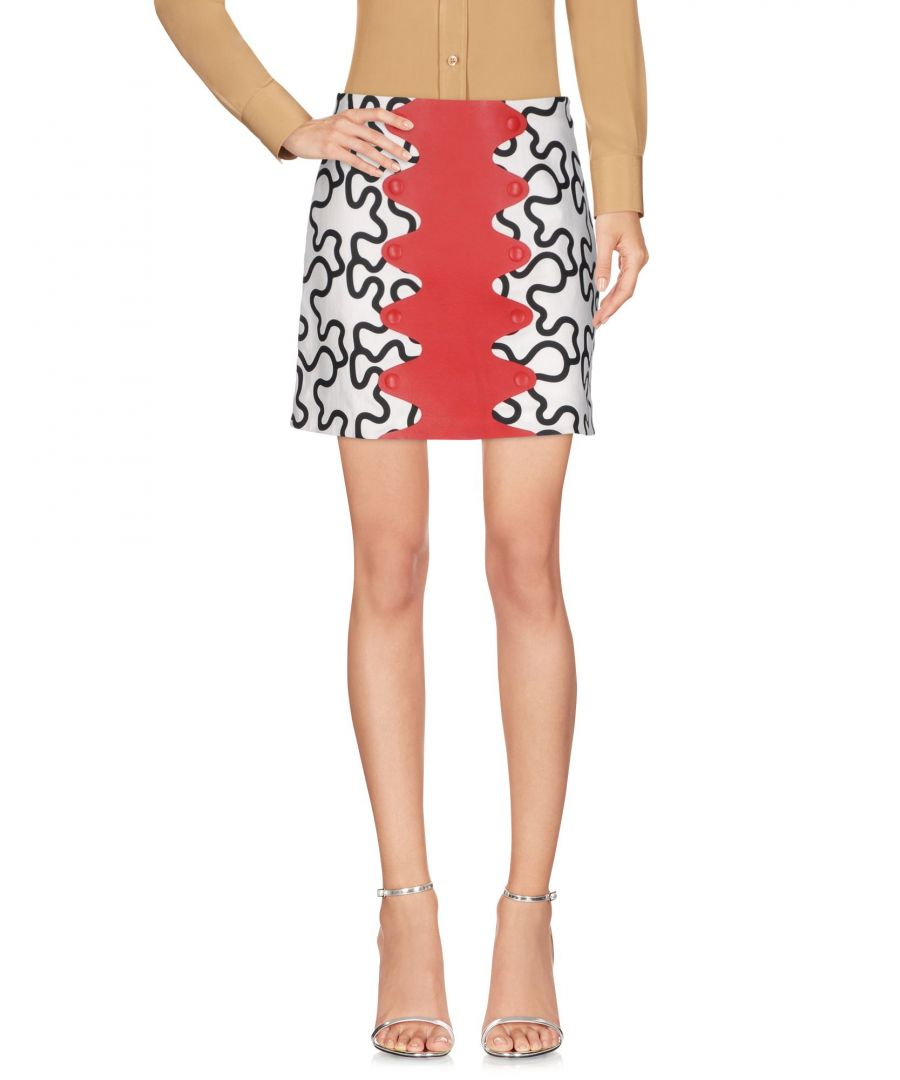 Image for JW Anderson White Pattern Cotton Skirt