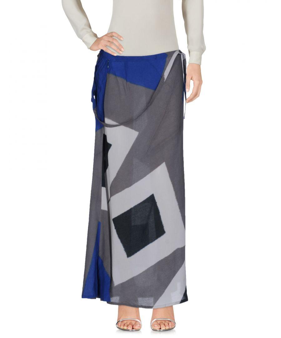 Image for Yohji Yamamoto Lead Pattern Full Length Skirt