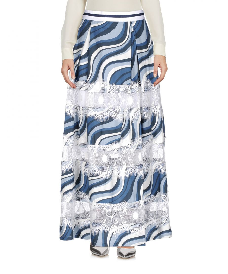 Image for SKIRTS Ainea Azure Woman Cotton