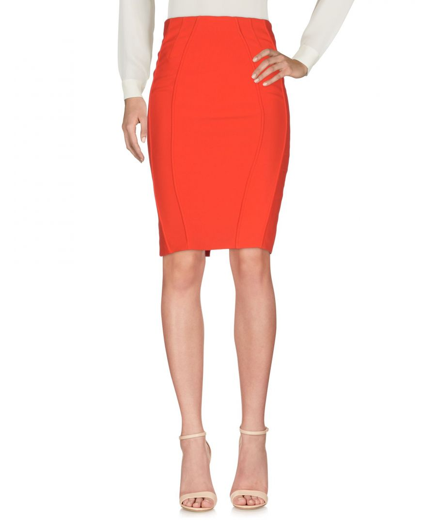Image for Betty Blue Red Crepe Skirt