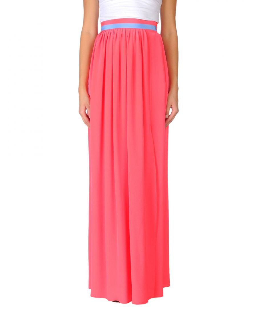 Image for Roksanda Coral Silk Full Length Skirt
