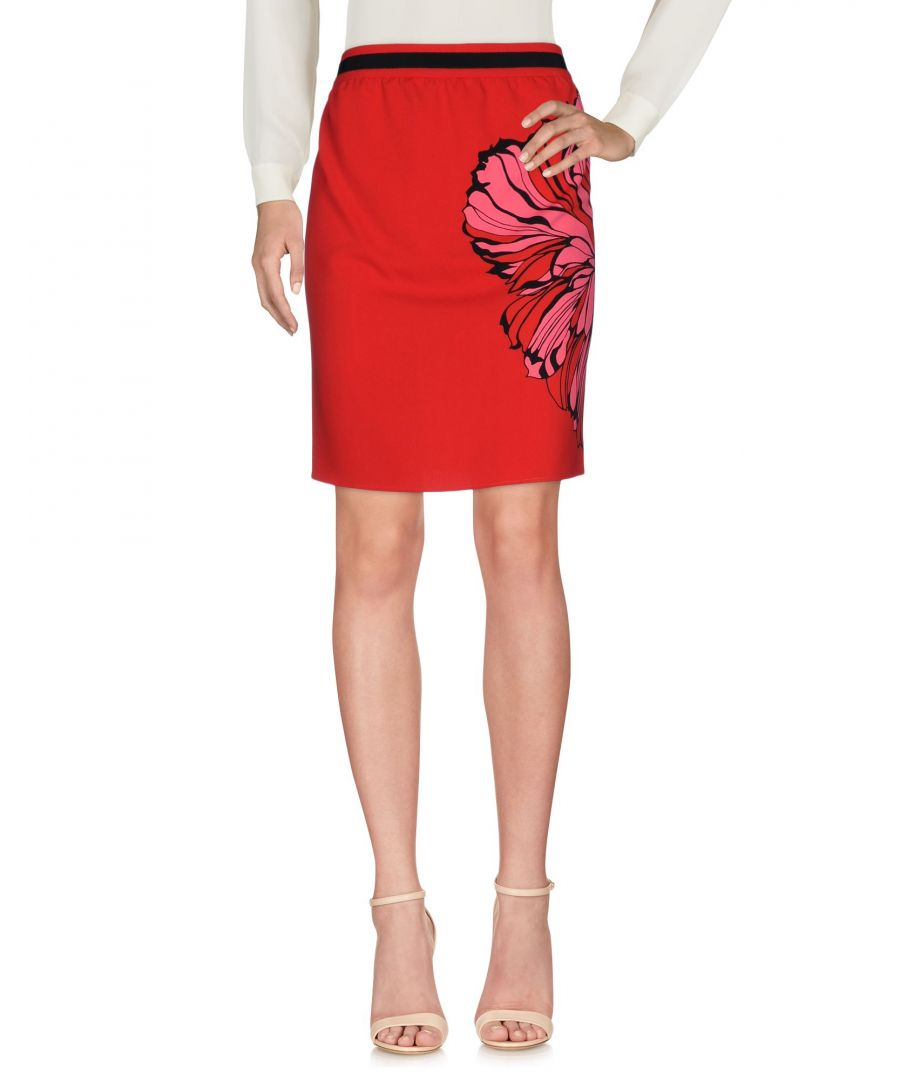 Image for Liu Jo Red Print Short Skirt