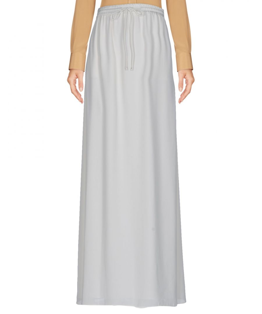 Image for Elizabeth And James Ivory Crepe Full Length Skirt