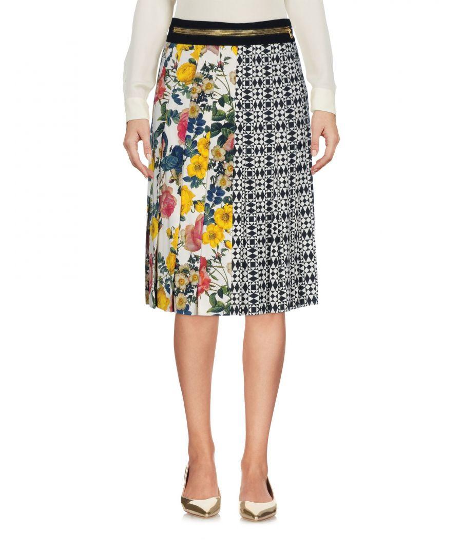 Image for Fausto Puglisi Beige Floral Design Skirt
