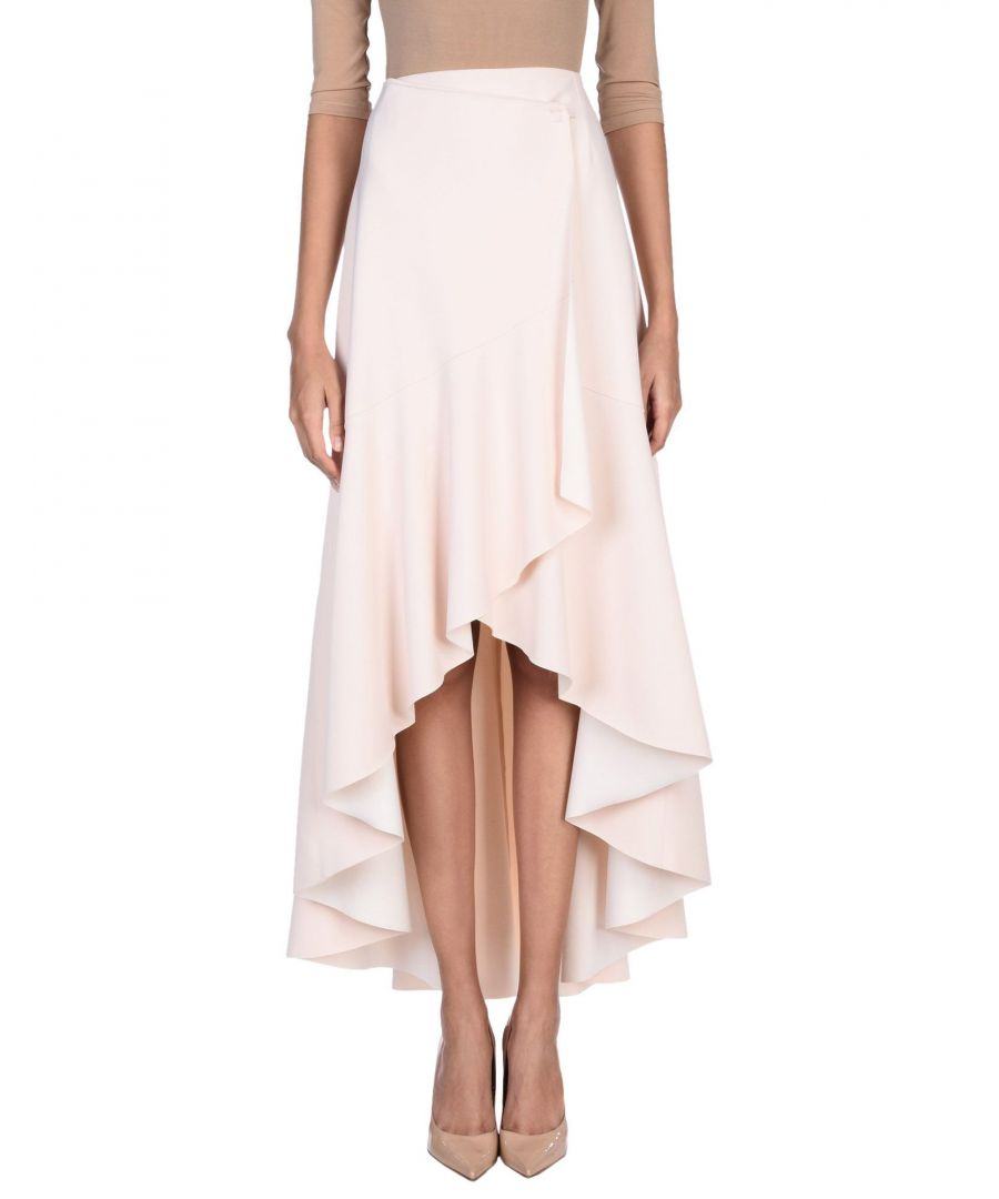 Image for Pinko Light Pink Full Length Skirt