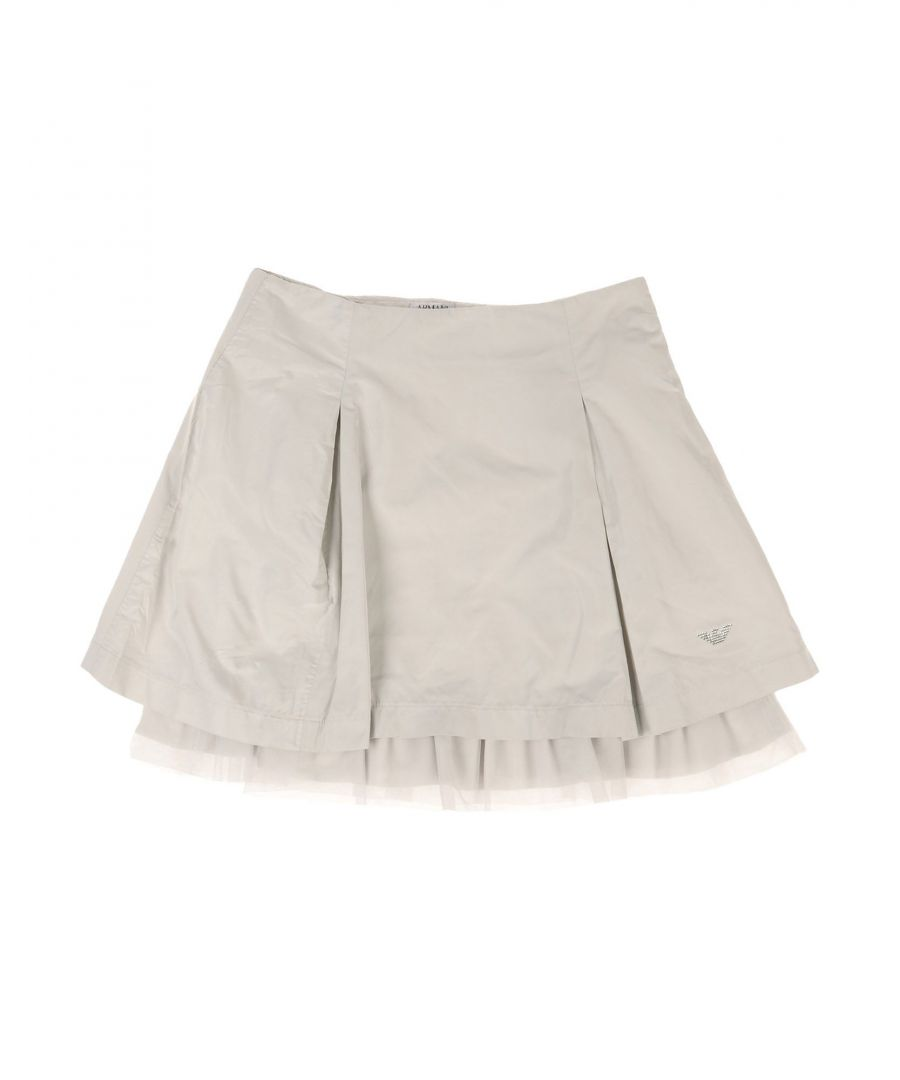 Image for SKIRTS Armani Junior Light grey Girl Polyester