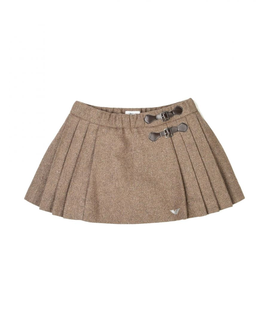 Image for SKIRTS Armani Junior Khaki Girl Wool