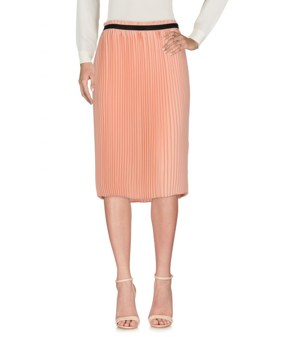Image for Blue Les Copains Pink Pleated Skirt