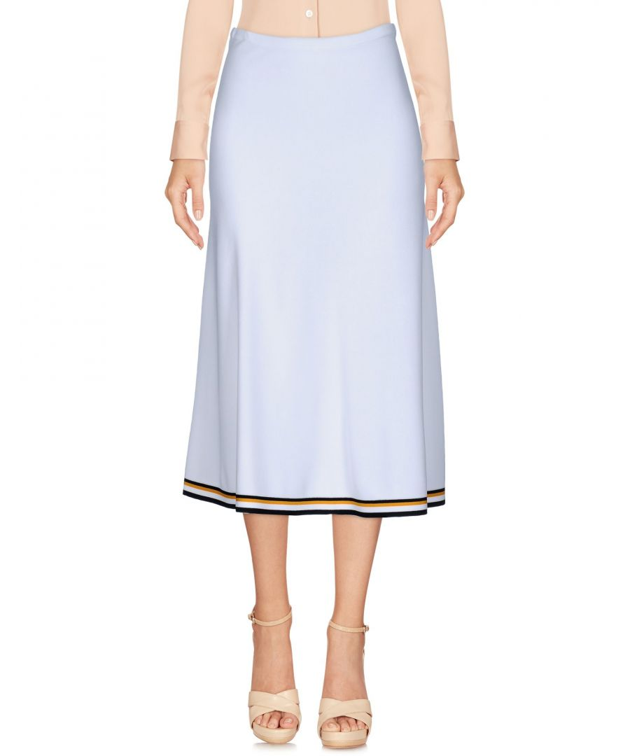 Image for Mrz White Jersey Skirt
