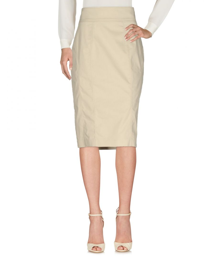 Image for Burberry Light Grey Cotton Skirt