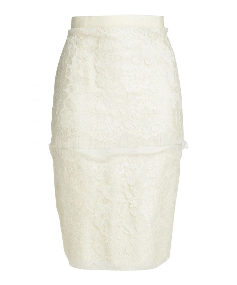 Image for SKIRTS Lanvin Ivory Woman Polyester
