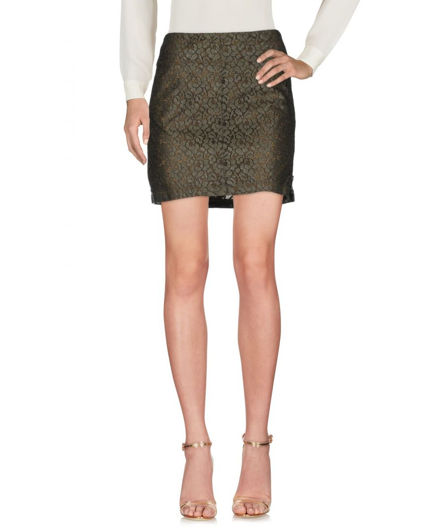 Image for Belstaff Military Green Cotton Lace Skirt