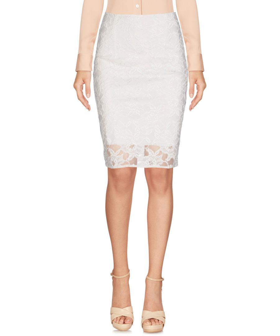 Image for Christies À Porter White Lace Skirt