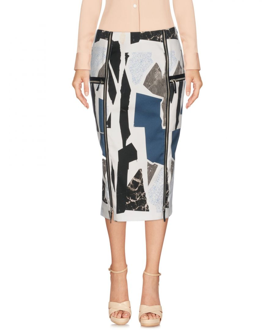 Image for Belstaff White Cotton Pencil Skirt