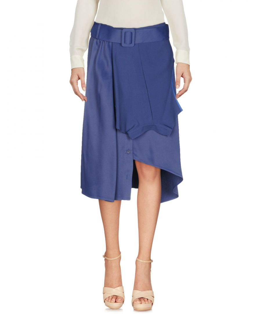 Image for SKIRTS Mm6 Maison Margiela Blue Woman Acetate