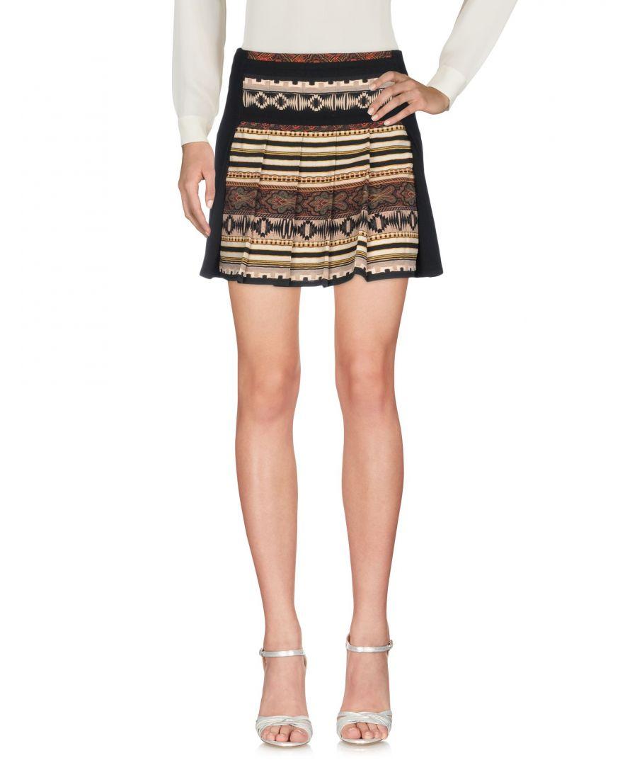 Image for Etro Black Wool Skirt