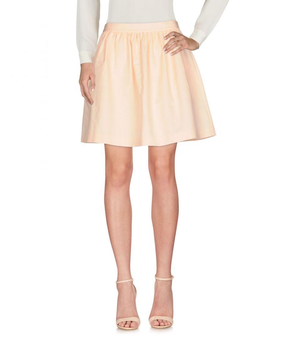 Image for SKIRTS Tara Jarmon Salmon pink Woman Cotton