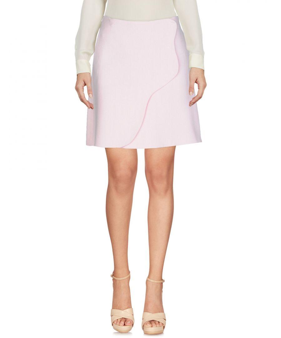 Image for Emporio Armani Light Pink Crepe Skirt