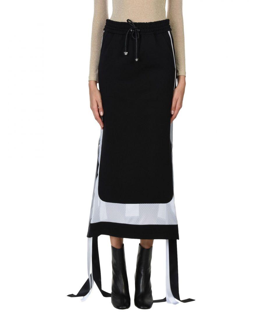Image for Nicopanda Black Full Length Skirt