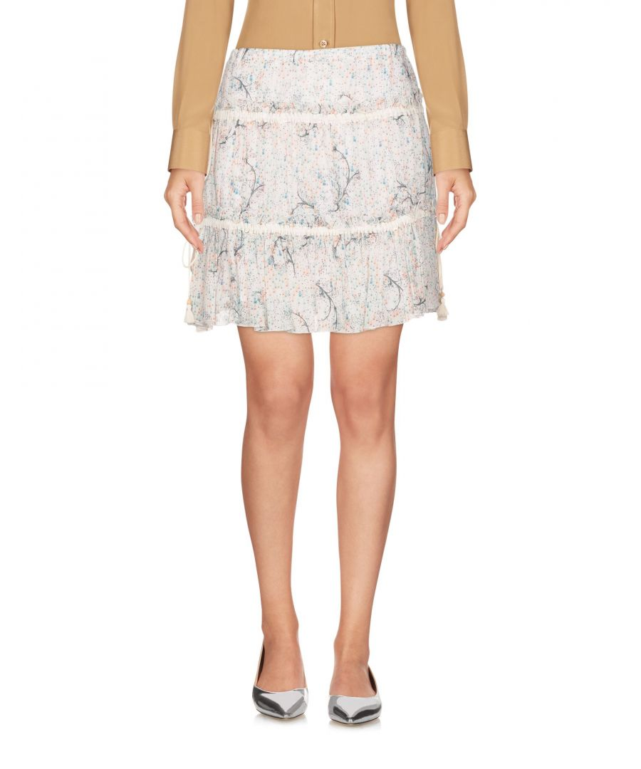 Image for See By Chloe White Cotton Skirt