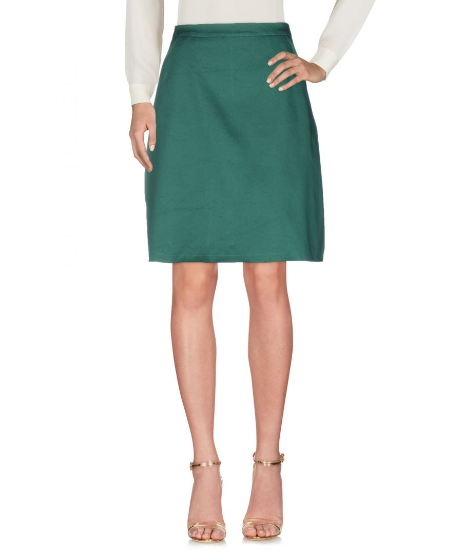 Image for Etre Cecile Green Cotton Skirt