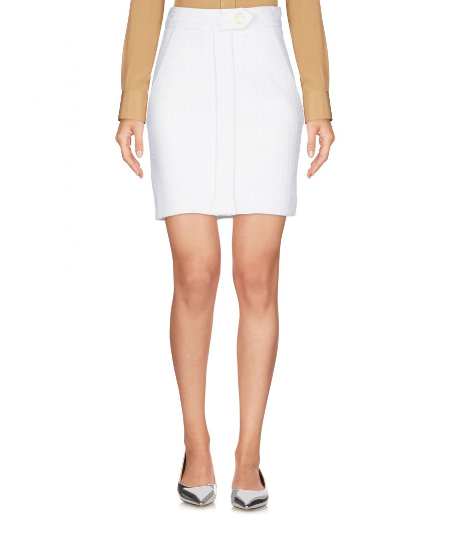Image for SKIRTS Maje Ivory Woman Cotton