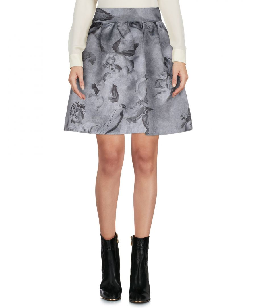 Image for SKIRTS Moschino Slate blue Woman Polyester