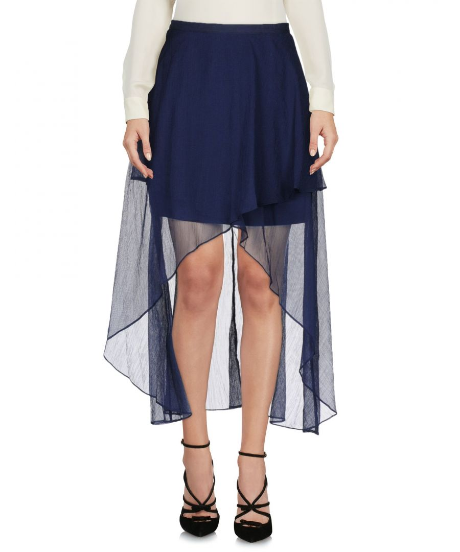 Image for Finders Keepers Dark Blue Mini Skirt