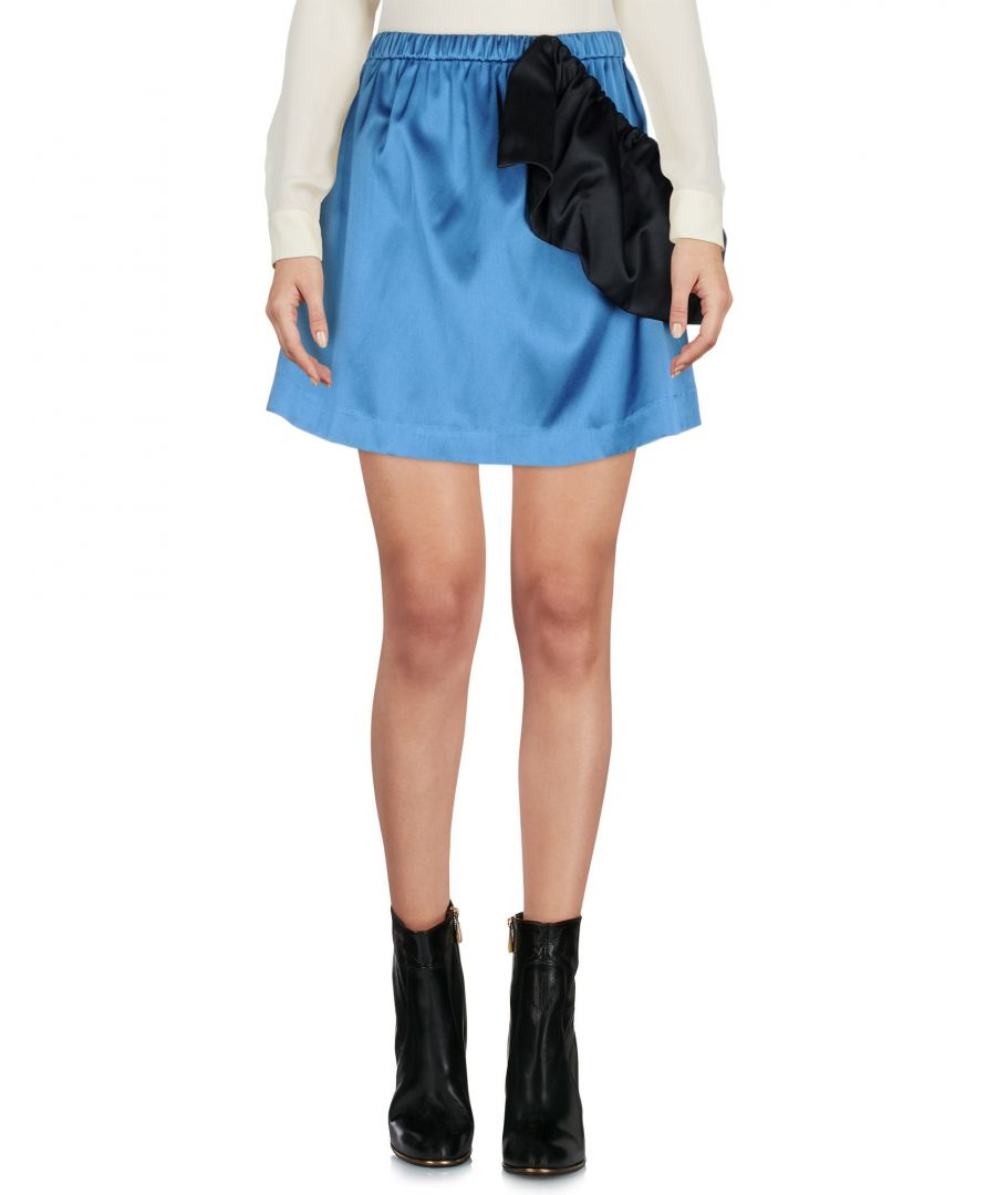 Image for Edit Pastel Blue Mini Skirt