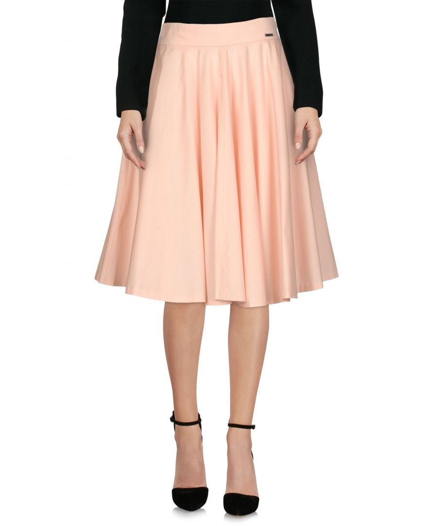 Image for Pepe Jeans Pink Cotton Poplin Skirt