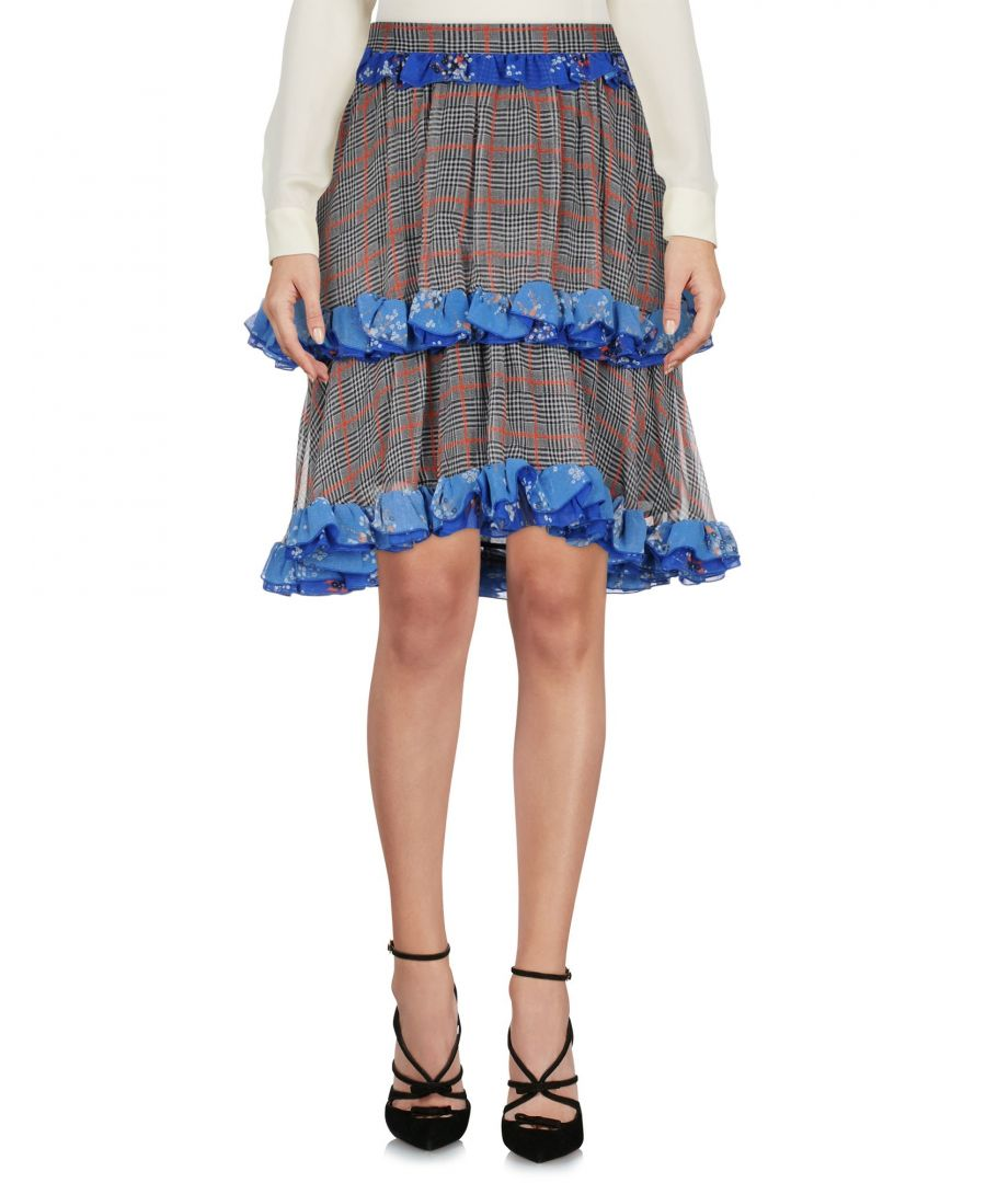 Image for SKIRTS Msgm Black Woman Silk