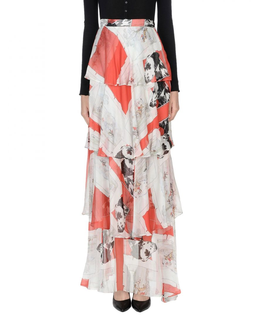Image for SKIRTS Woman Msgm Red Silk