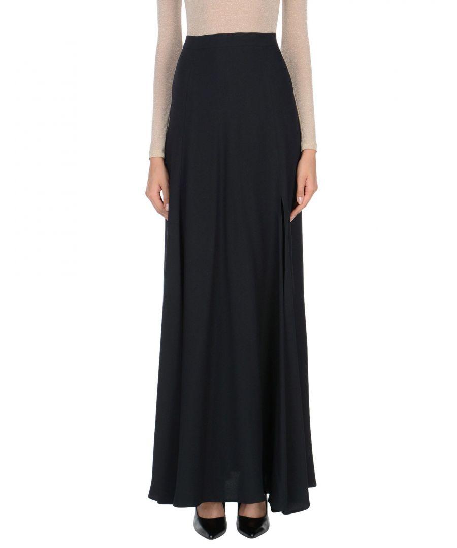 Image for Space Style Concept. Black Full Length Skirt