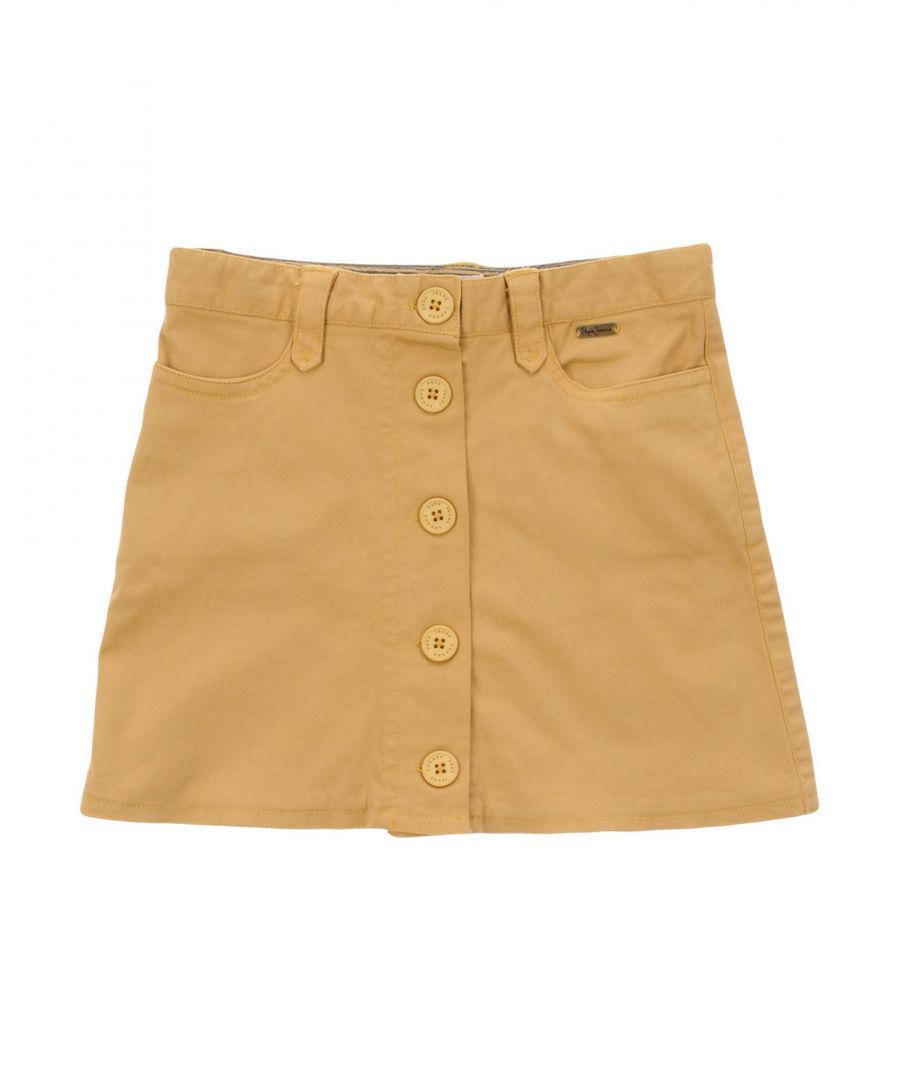 Image for SKIRTS Girl Pepe Jeans Sand Cotton