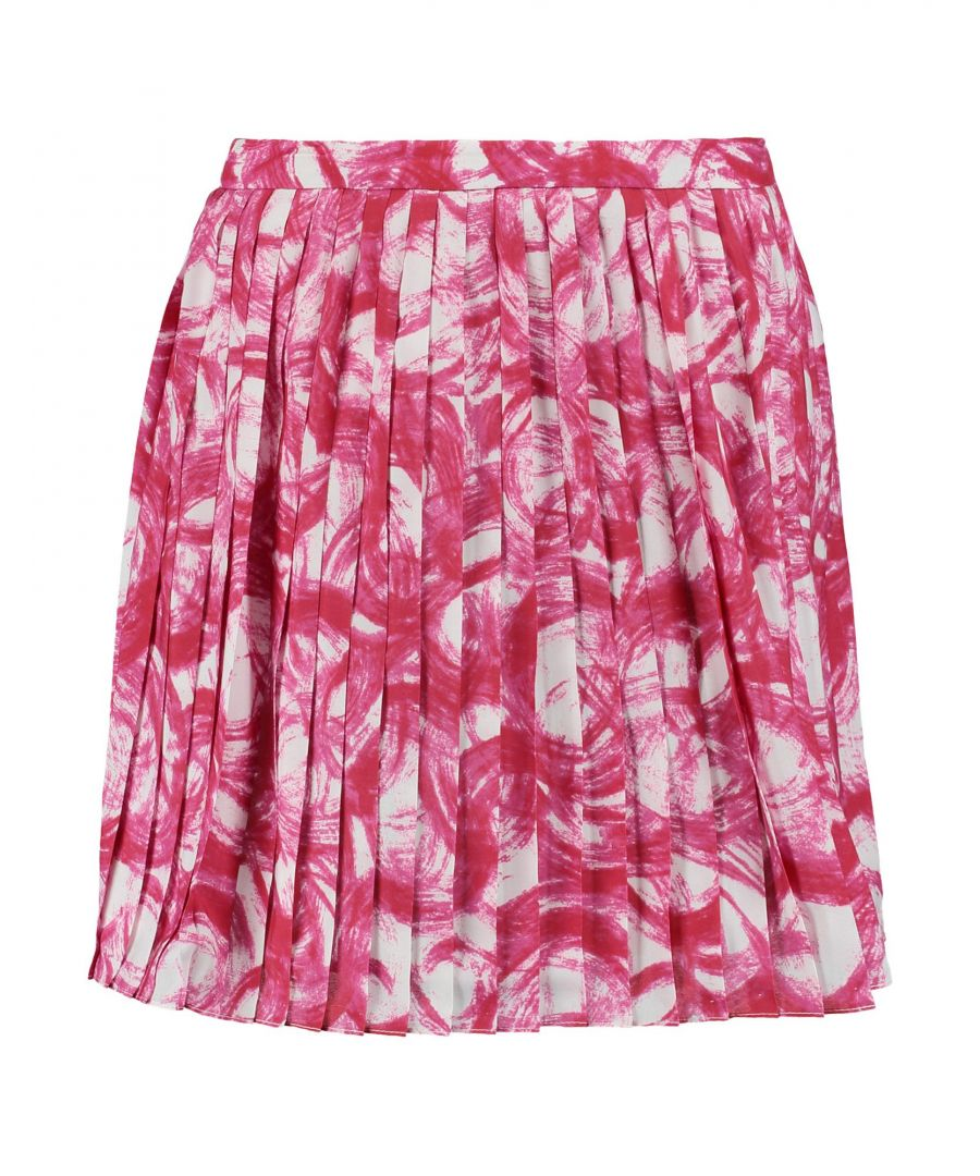 Image for Raoul Fuchsia Polyester Skirt