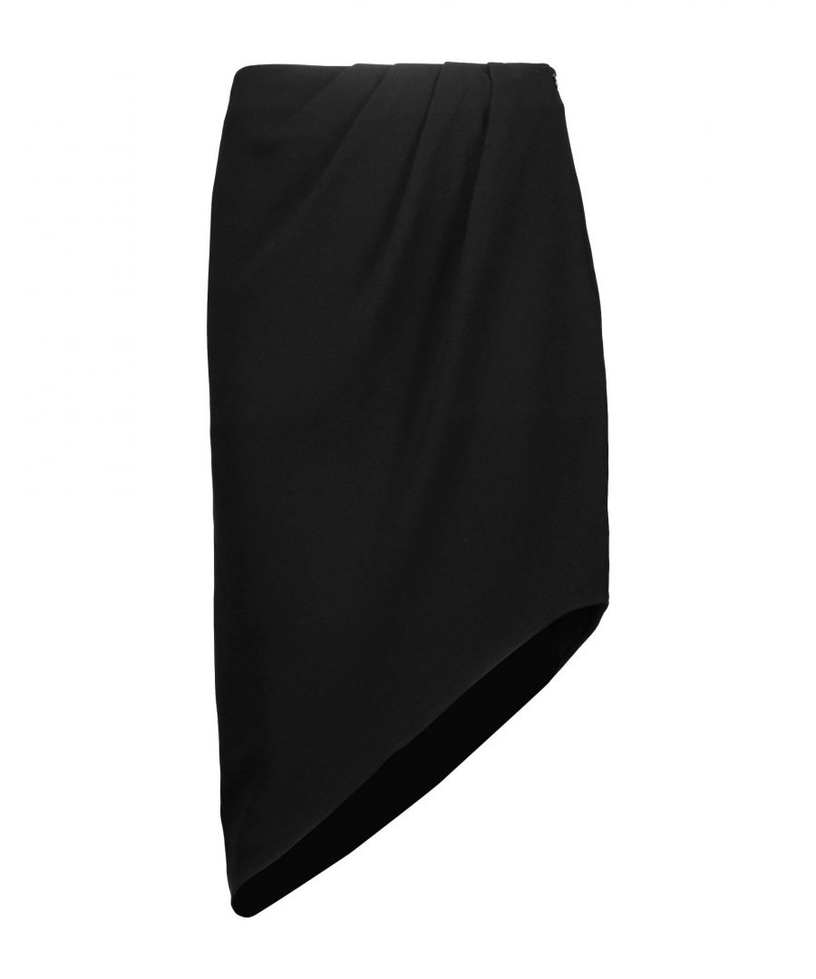 Image for Haute Hippie Black Knee Length Skirt