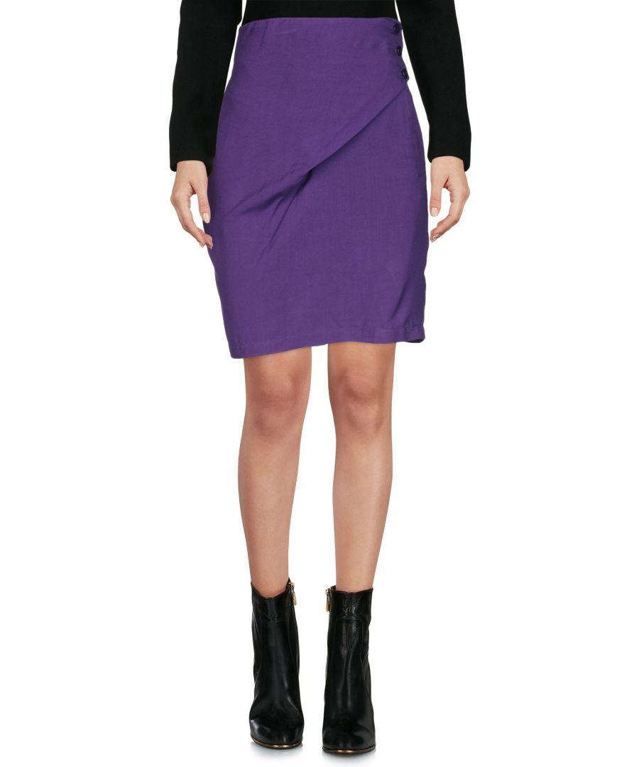 Image for Versus Versace Purple Short Skirt