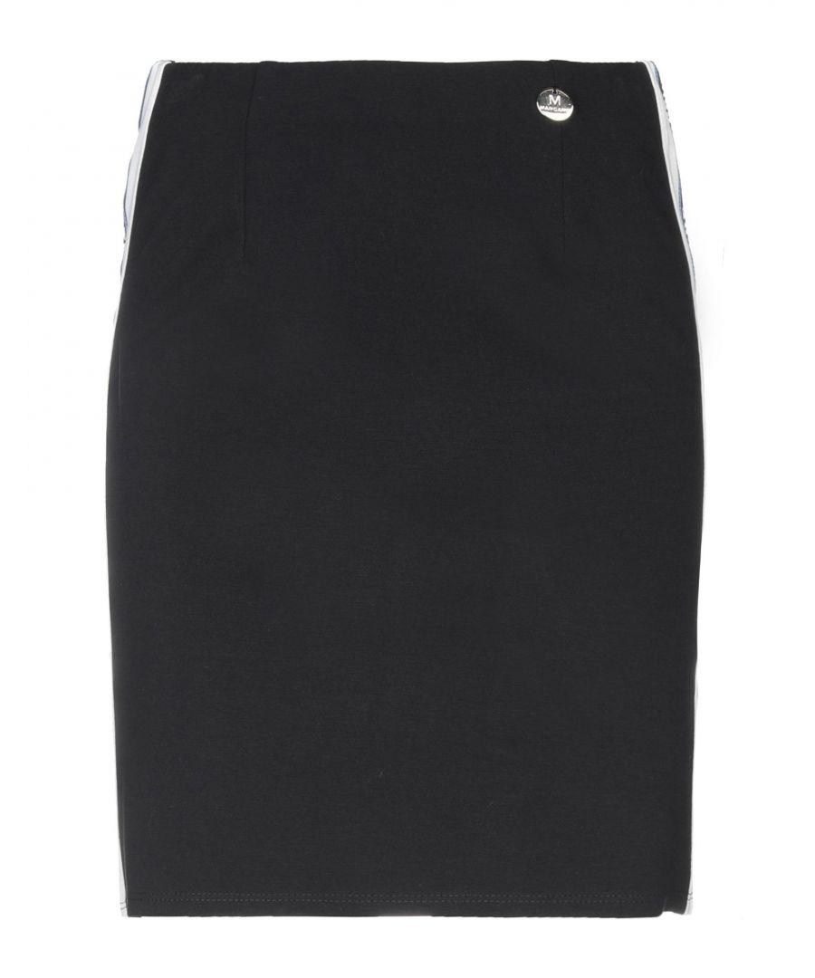 Image for Mangano Black Jersey Skirt