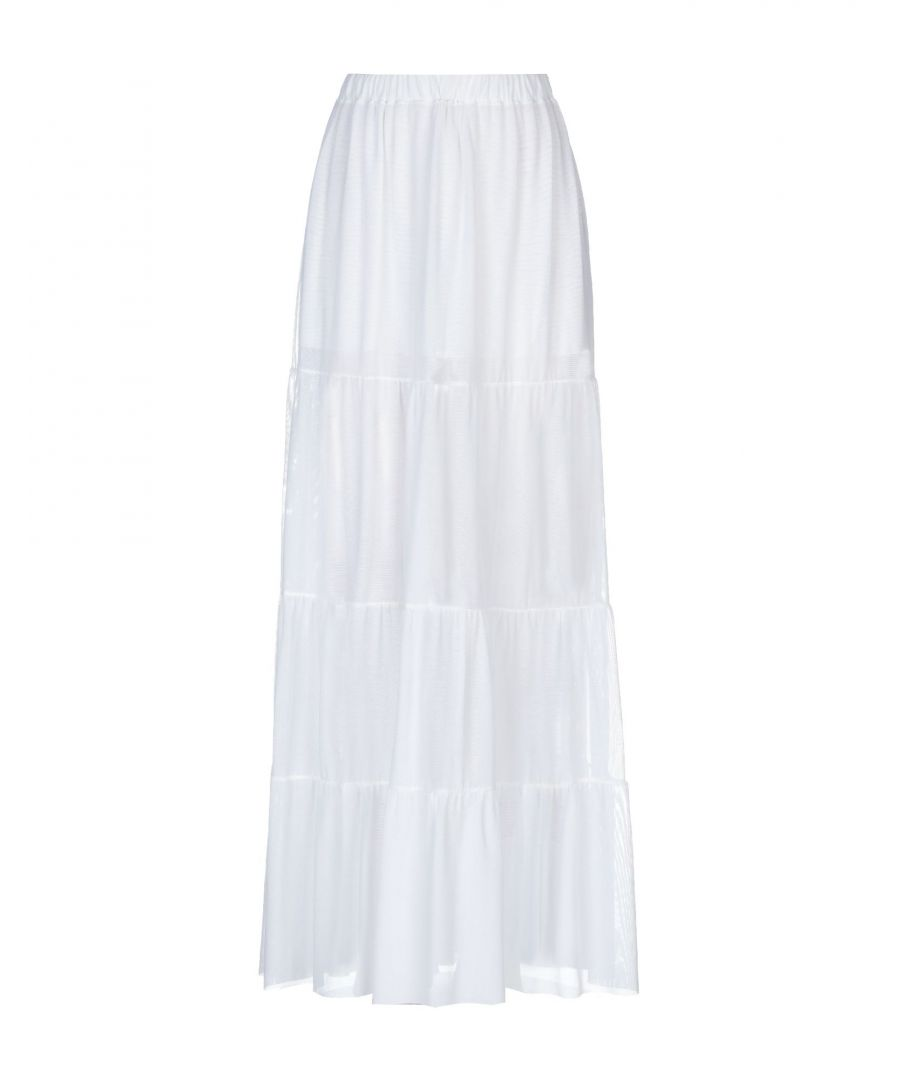 Image for SKIRTS Fisico White Woman Polyester