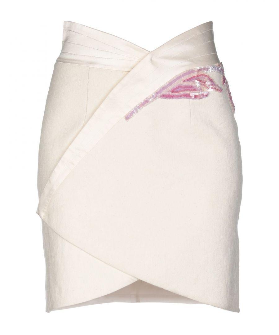 Image for SKIRTS Woman Blumarine Ivory Cotton