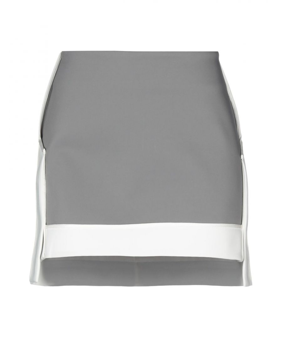 Image for Viktor & Rolf Grey Cotton Skirt
