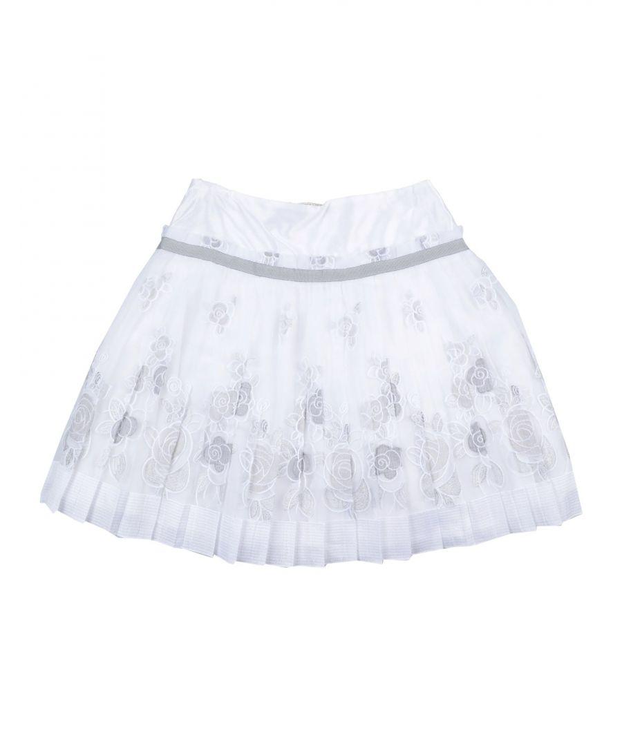 Image for Girls' Monnalisa White Skirt
