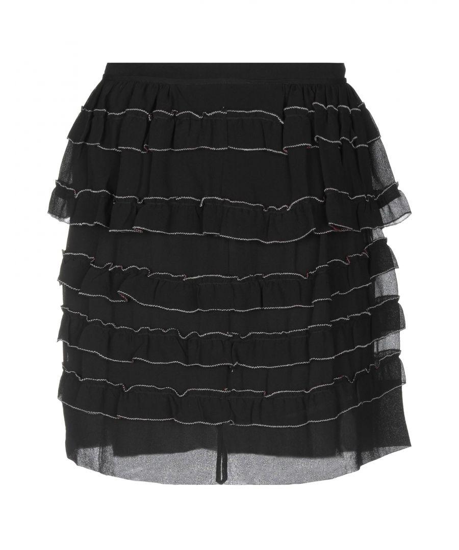 Image for SKIRTS Isabel Marant Black Woman Silk
